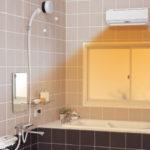 暖房完備の風呂場